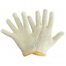 Перчатки ХБ 3 нити БЕЗ ПВХ белые (10кл) *10*500