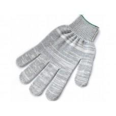 Перчатки ХБ 4 нити БЕЗ ПВХ серые (10кл) *10*500