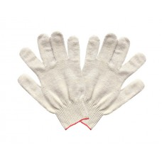 Перчатки ХБ 5 нити БЕЗ ПВХ белые (10кл) *10*250